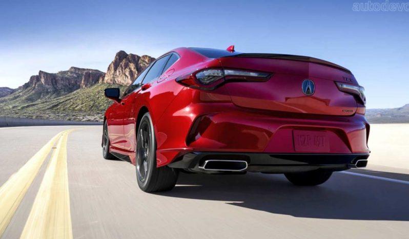 New Acura TLX 2021 full